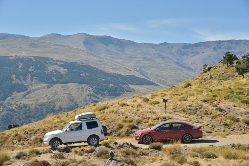 Vistas de la Alpujarra granadina