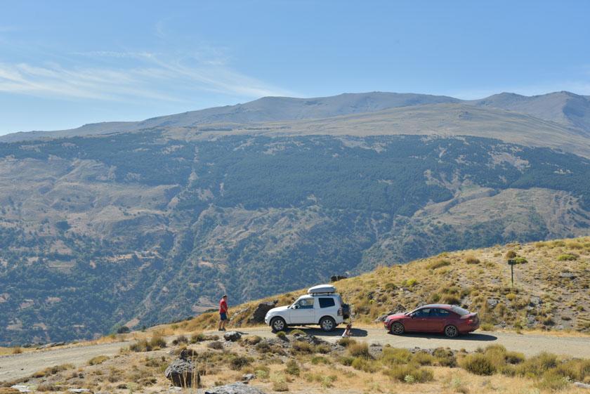 Increíbles vistas de Sierra Nevada