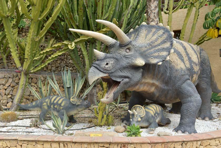 El Triceratops es uno de los dinosaurios favoritos de los peques
