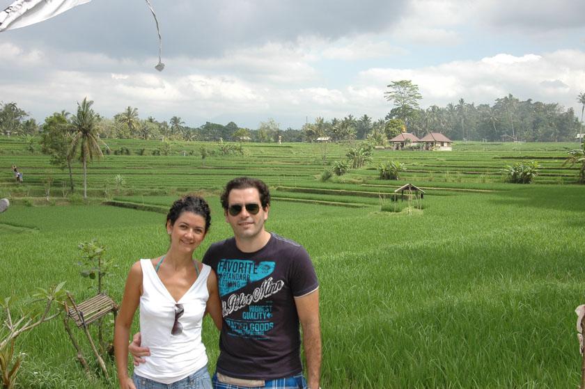 Una de las mejores cosas que ver en Ubud son sus campos de arroces
