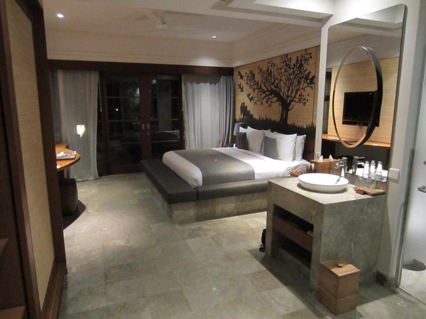 Nuestra habitación del Alaya Resort en Ubud