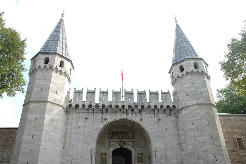 Llegamos al Palacio de Topkapi