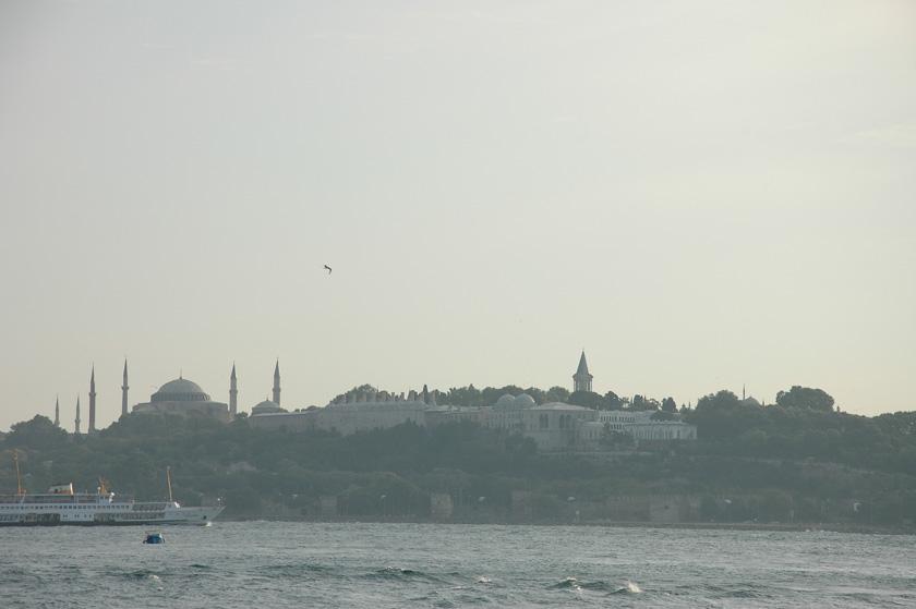 Preciosa vista de Estambúl