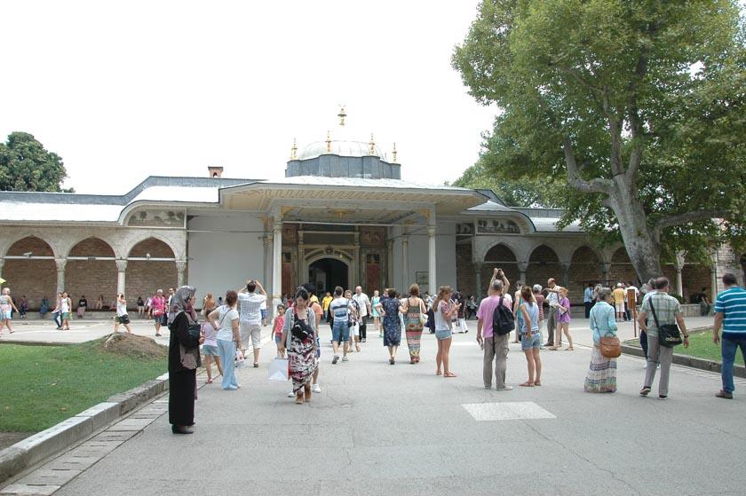 Puerta de la Felicidad en Topkapi