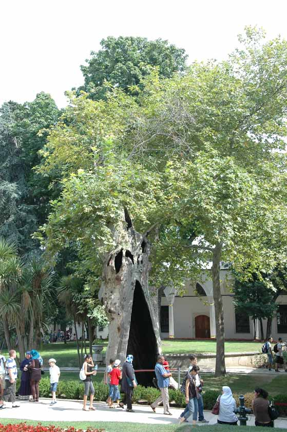 Tercer patio del Palacio de Topkapi