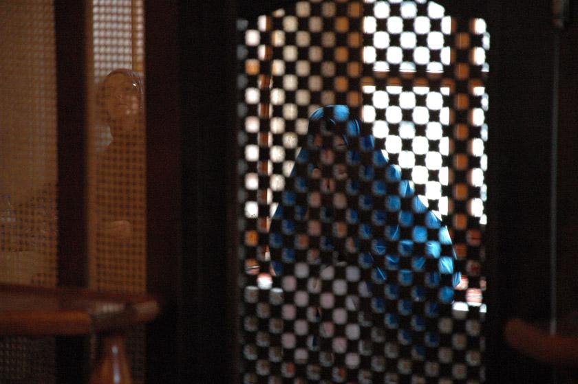 Mujeres rezando en la Mezquita Azul