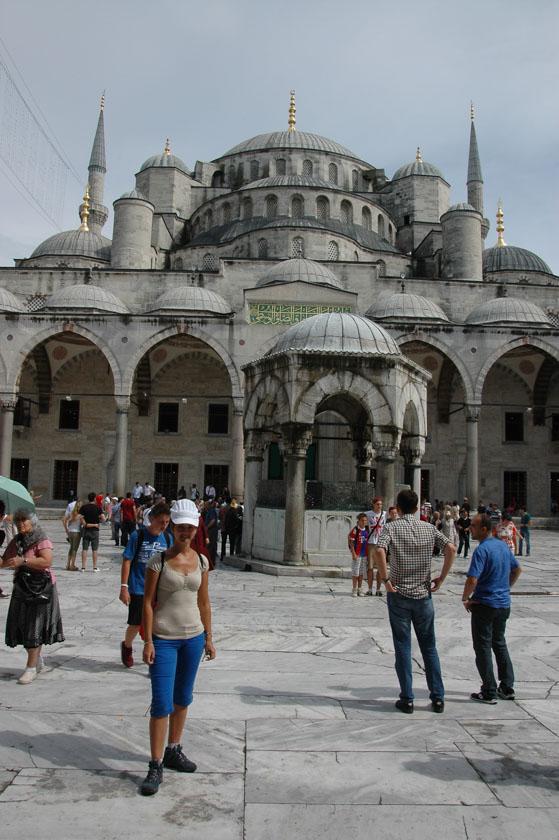 Fuente de las abluciones en la Mezquita Azul