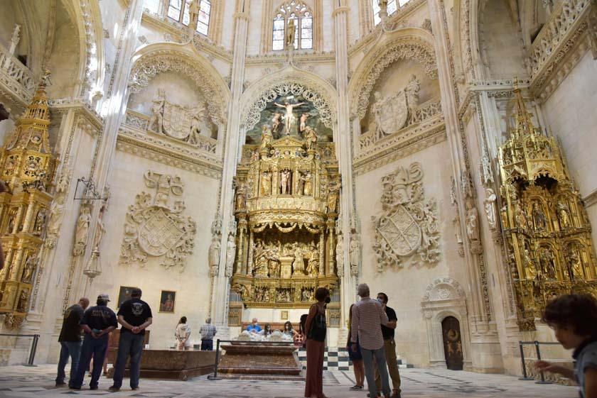 La Capilla de los Condestables es una de las mejores visitas de Burgos