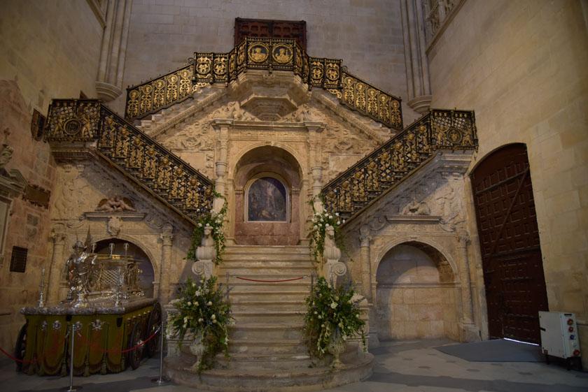 Escalera de la Catedral de Burgos