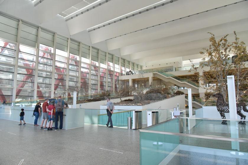 Vista general del museo de la evolución humana