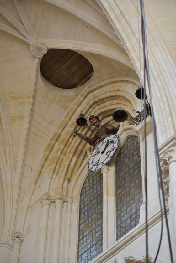 El Papamoscas de la Catedral de Burgos