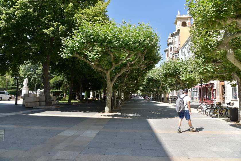 El Paseo del Espolón es una de las mejores cosas que ver en Burgos