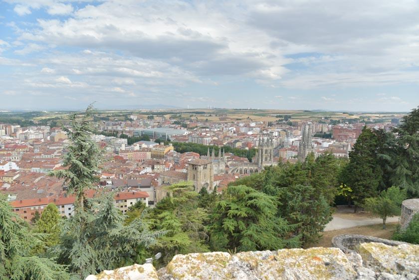 Burgos vista desde su castillo